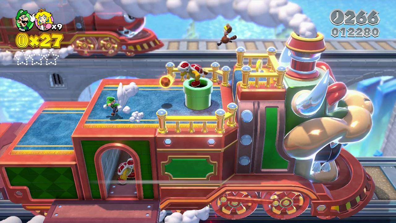 игра Super Mario 3d World