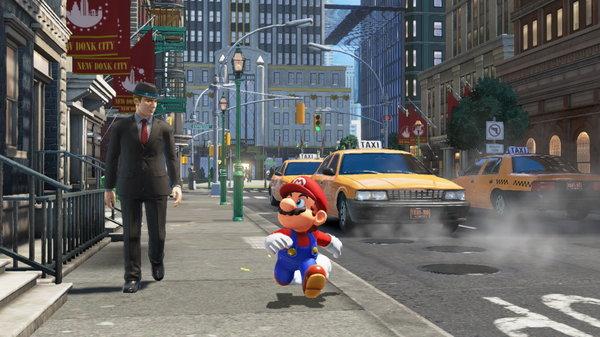 Кадры из игры Super Mario Odyssey