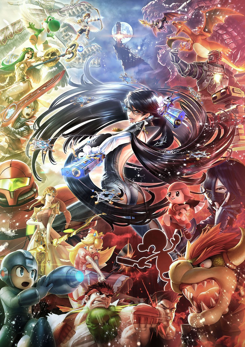 Super Smash Bros. for Nintendo 3DS and Wii U, постер № 1