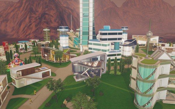 Кадры из игры Surviving Mars