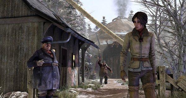Кадры из игры Syberia 3
