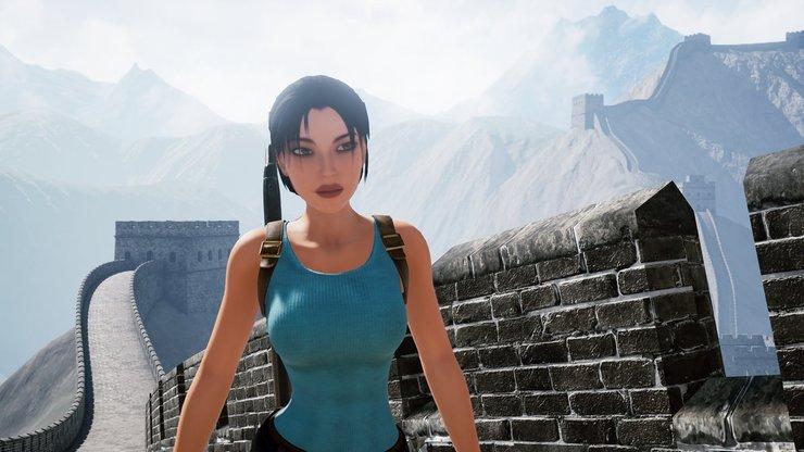 Кадры из игры Tomb Raider II: The Dagger of Xian Remake