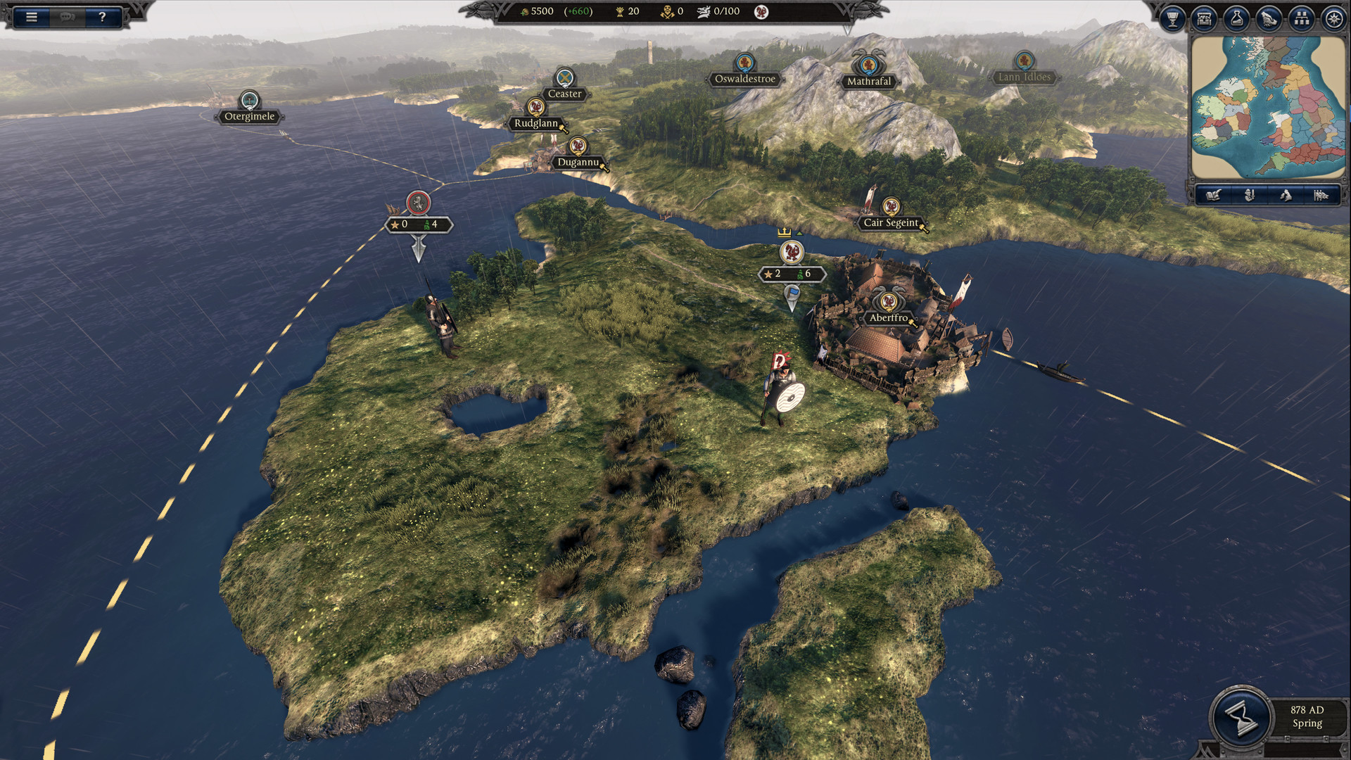 Total War Saga: Thrones of Britannia, кадр № 5
