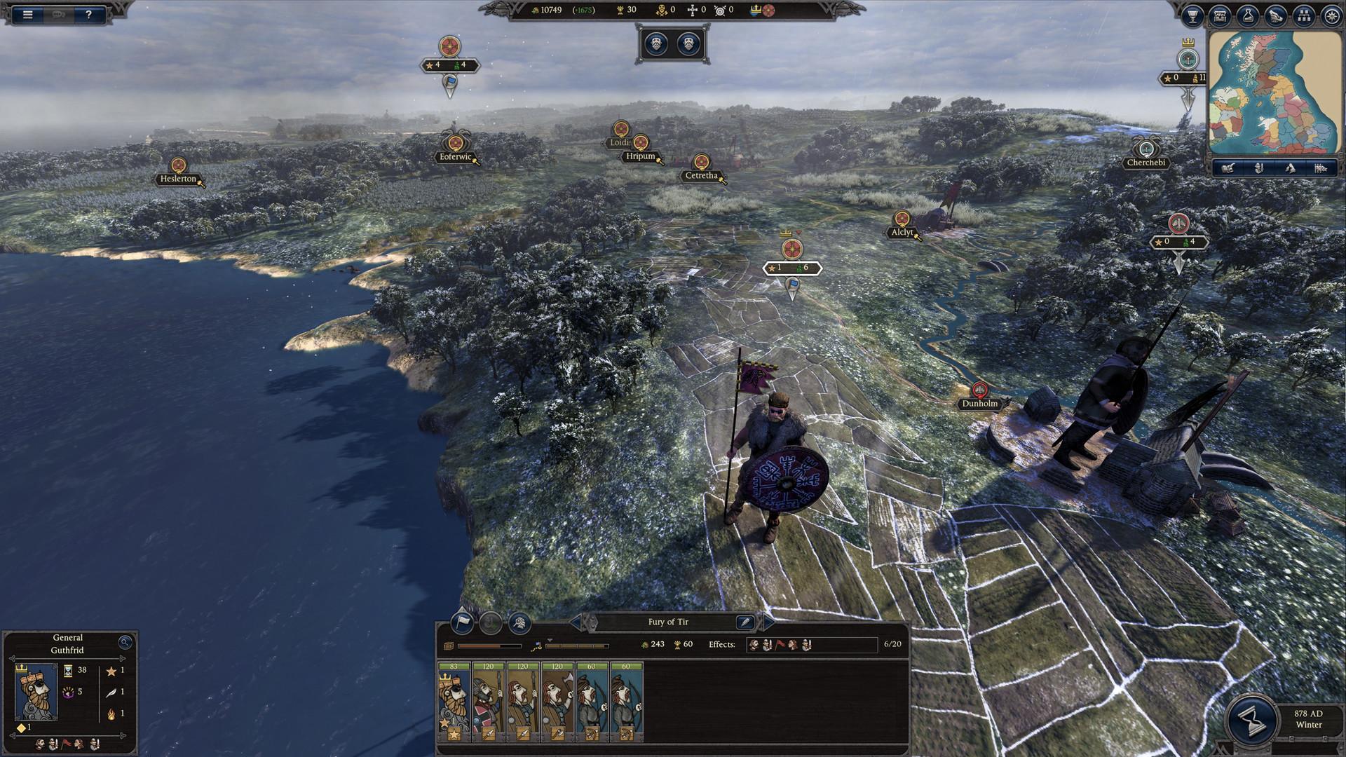 Total War Saga: Thrones of Britannia, кадр № 7