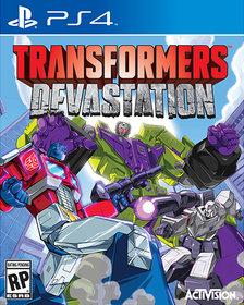 Слитый анонс и кадры из игры Transformers: Devastation