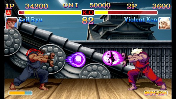 Кадры из игры Ultra Street Fighter II: The Final Challengers