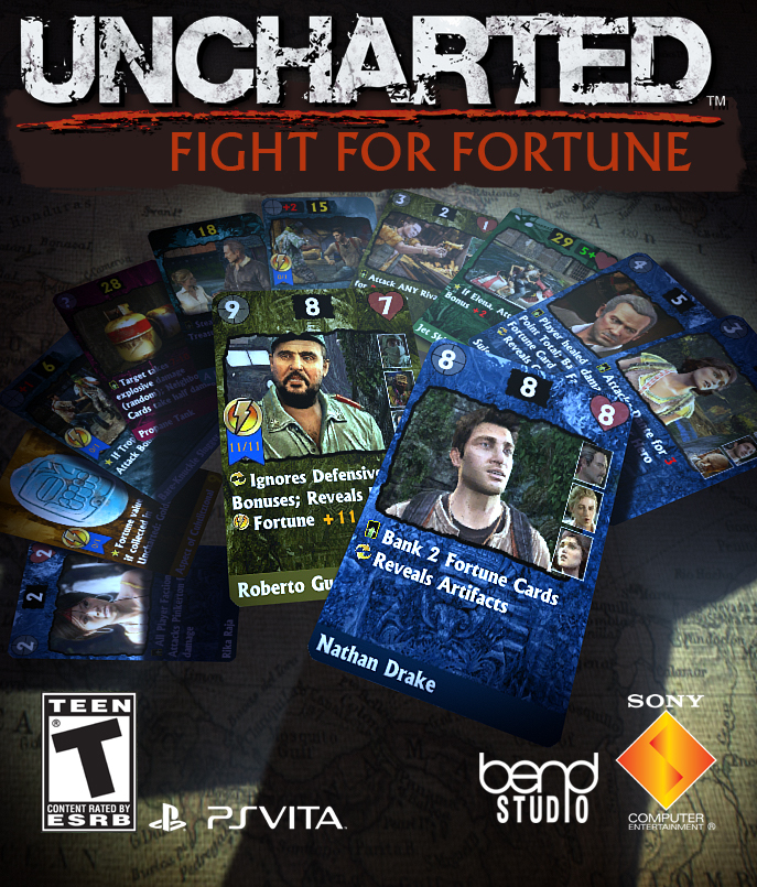 Uncharted: Fight for Fortune, постер № 1
