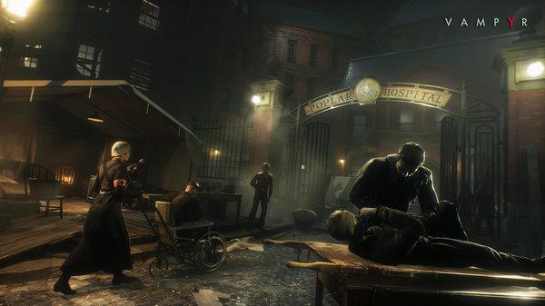 Кадры из игры Vampyr