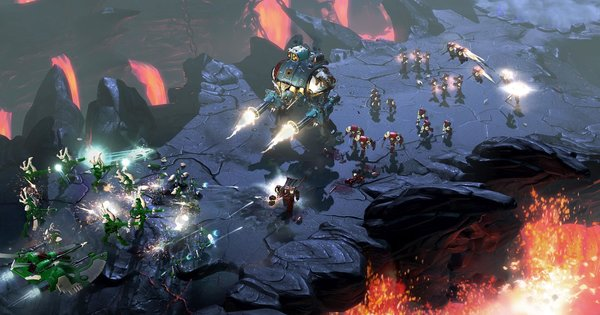 Кадры из игры Warhammer 40,000: Dawn of War III