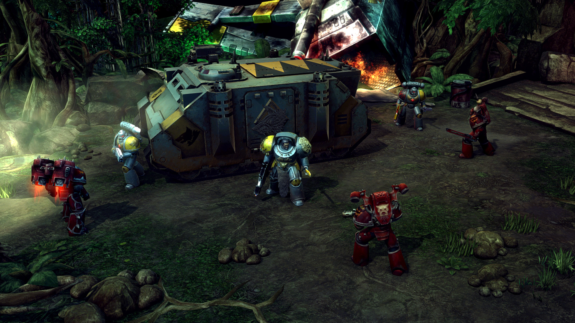 Warhammer 40,000: Space Wolf, кадр № 4