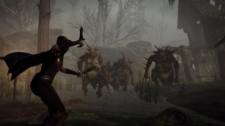 Кадры из игры Warhammer: Vermintide 2