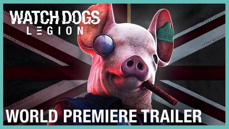 Watch Dogs Legion — дебютные ролики игры с неправдоподобно крутой концепцией