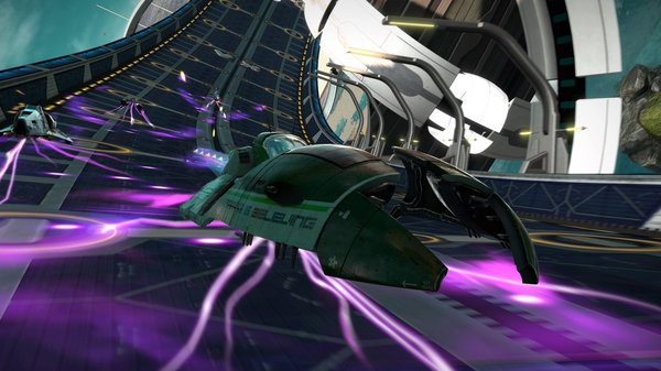 Кадры из игры WipEout: Omega Collection
