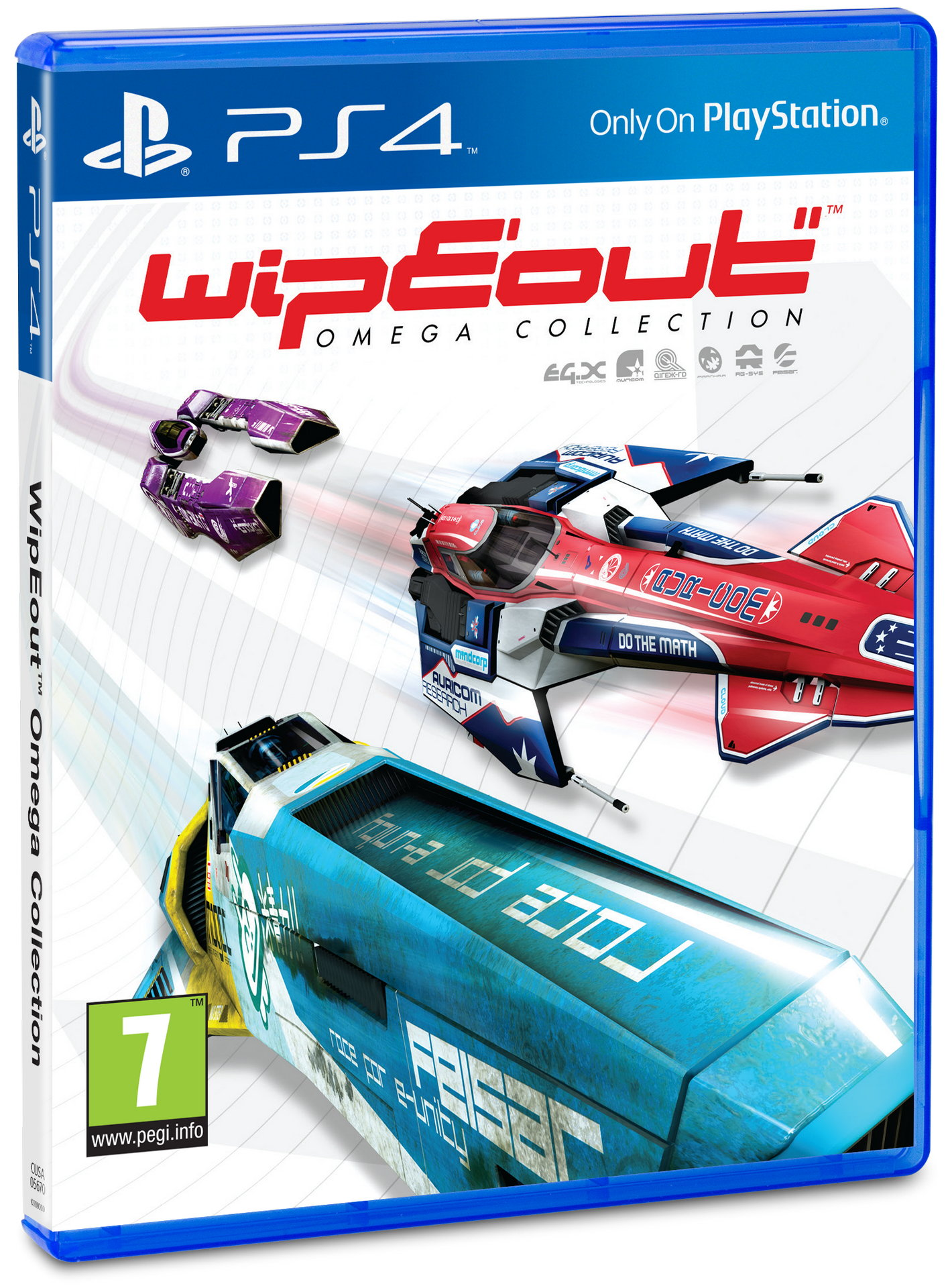 WipEout: Omega Collection, постер № 1