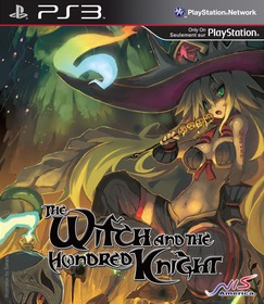 Обложки игры The Witch and the Hundred Knight