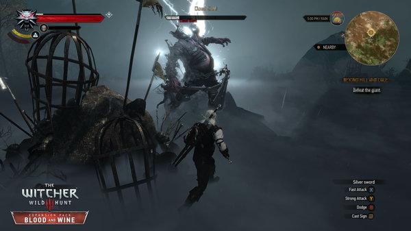 Кадры из игры «Ведьмак 3: Кровь и вино»