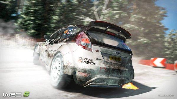 Кадры из игры WRC 6