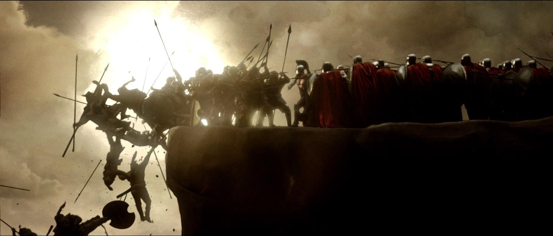 Кадры фильма «300 спартанцев»
