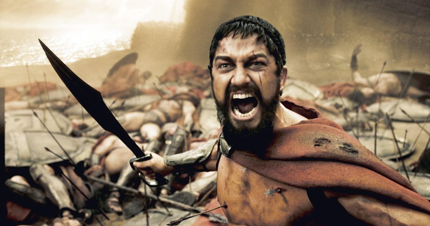 Кадры фильма «300 спартанцев
