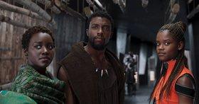 Кадры из фильма «Чёрная Пантера»