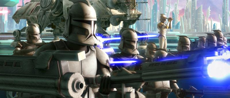 Звёздные войны: Войны клонов, кадр № 9