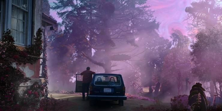 Кадры из фильма «Цвет из иных миров»