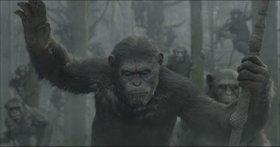 «Рассвет планеты обезьян» (Dawn of the Planet of the Apes)  Режиссер: Мэтт Ривс В ролях: Энди Серкис
