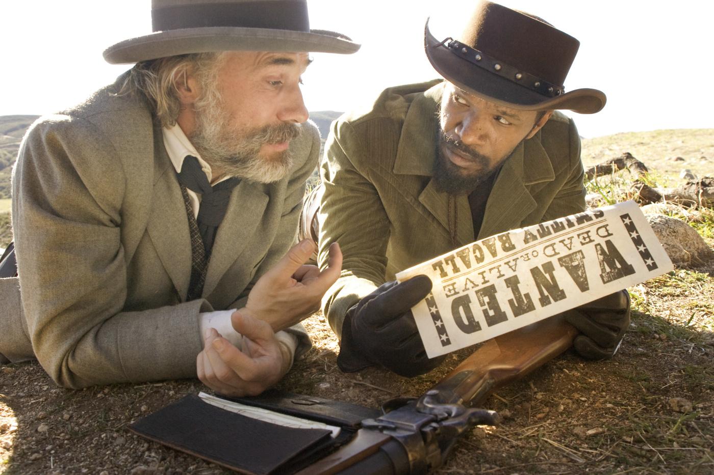 освобожденный джанго фото из фильма