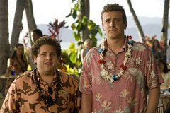 «Забыть Сару Маршалл» (Forgetting Sarah Marshall)  Режиссер: Ник Столлер В ролях: Джейсон Сегель, Кристен Белл, Мила Кунис, Рассел Брэнд, Билл Хейдер, Кала Александр