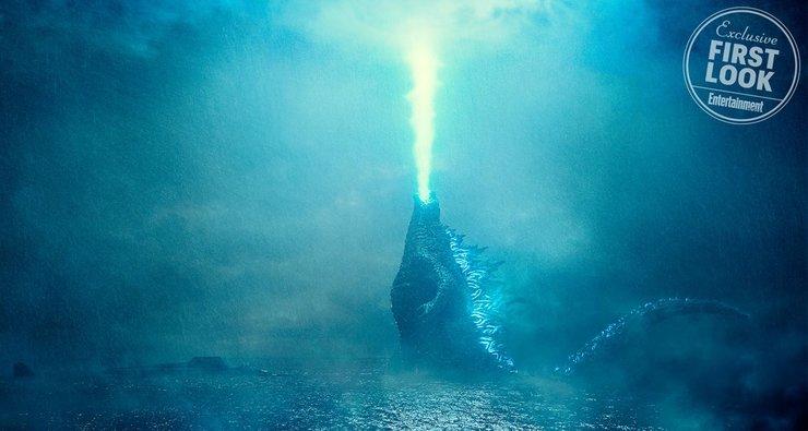 Кадры из фильма «Годзилла: Король монстров»
