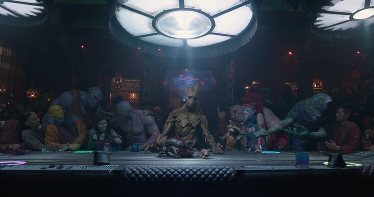 Кадры из фильма «Стражи галактики»
