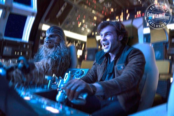 Кадры из фильма «Хан Соло: Звёздные войны. Истории»