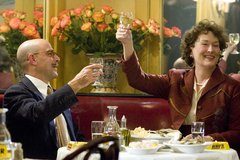 «Джули и Джулия» (Julie and Julia)  Режиссер: Nora Ephron В ролях: Meryl Streep, Amy Adams, Stanley Tucci, Chris Messina, Jane Lynch, Dave Annable, Mary Lynn Rajskub
