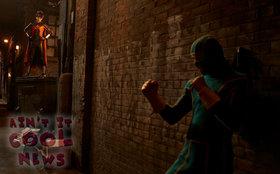 «Заебись» (Kick-Ass)  Режиссер: Мэттью Вон В ролях: Николас Кейдж, Аарон Джонсон, Линдси Фонсека, Марк Стронг, Кристофер Минц-Плассе, Хлои Моритц