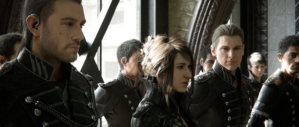 Кадры из фильма «Королевское копьё: Последняя фантазия XV»