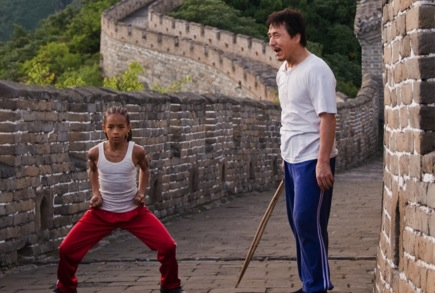 «Малыш Кунг-фу» (Kung Fu Kid)  Режиссер:  Harald Zwart  В ролях:  Джеки Чан, Джейден Смит, Taraji P. Henson