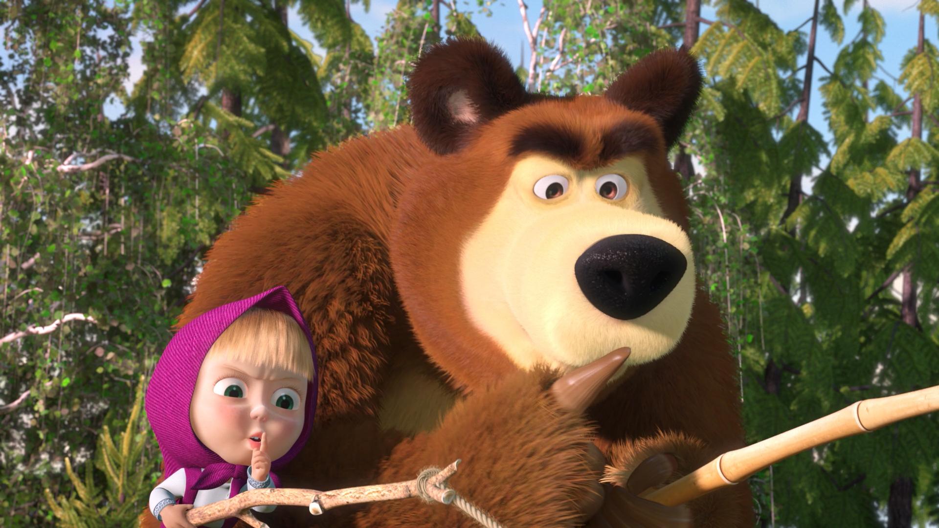 обидно, смотреть фото маша и медведь женщине