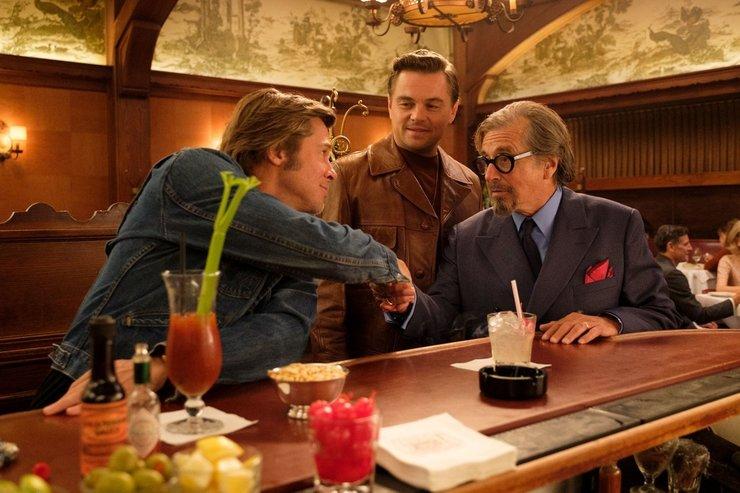 Кадры из фильма «Однажды... в Голливуде»