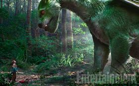Кадры из фильма «Пит и его дракон»