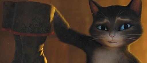 «Кот в сапогах» (Puss In Boots)  Режиссер:  Крис Миллер  В ролях:  Антонио Бандерас, Сальма Хайек, Зак Галифианакис