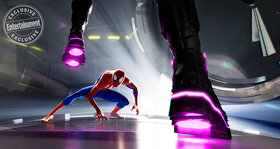 Кадры из фильма «Человек-паук: Через вселенные»
