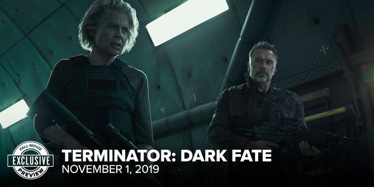 Кадры из фильма «Терминатор: Тёмные судьбы»