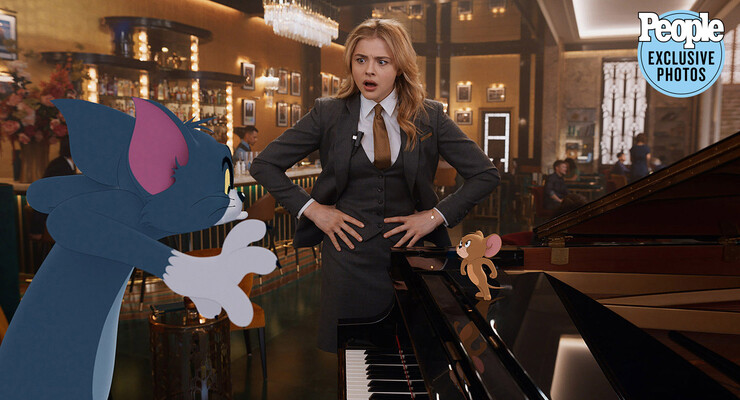 Кадры из фильма «Том и Джерри»