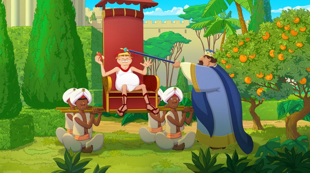 Три богатыря и наследница престола, кадр № 15