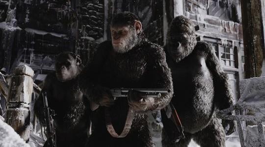 Кадры из фильма «Планета обезьян: Война»