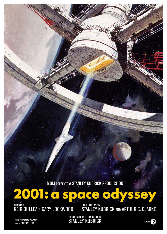 2001: Космическая одиссея, постер № 1