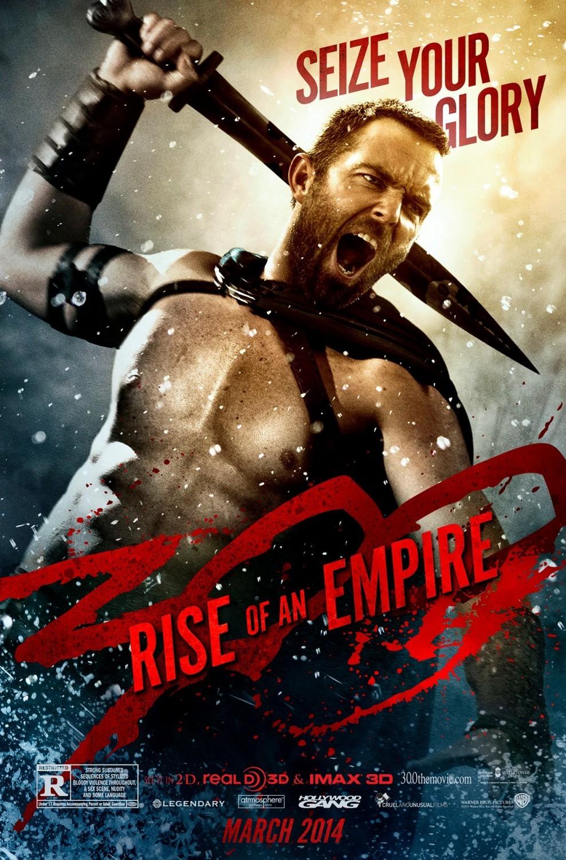 Постеры фильма «300 спартанцев: Расцвет империи