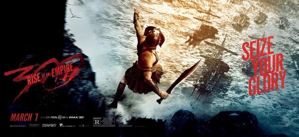 Постеры фильма «300 спартанцев: Расцвет империи»