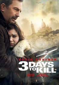Постеры фильма «Три дня на убийство»