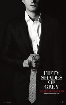 Постеры фильма «Пятьдесят оттенков серого»